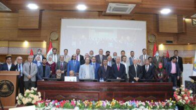 صورة جامعة البصرة تعقد مؤتمر تقييم وتقويم التعلم الإلكتروني والمدمج