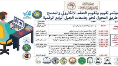 صورة رعاية مؤتمر تقييم وتقويم التعليم الالكتروني