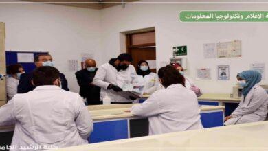 صورة زار فريق طبي من كوادر دائرة صحة الكرخ