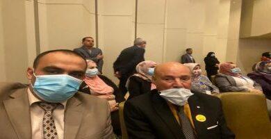 صورة مشاركة عميد الكلية في المؤتمر العلمي الخامس للتخصصات الصحية و الطبية