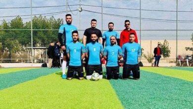 صورة الكوت الجامعة تشارك في البطولة السداسية للجامعات العراقية .