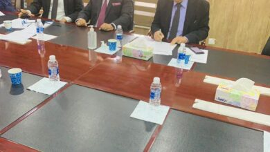 صورة اجتماع في هيئة المستشارين مكتب رئيس مجلس الوزارء لجنة التربية والتعليم مع رابطة الجامعات والكليات الاهلية العراقية
