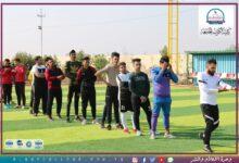 صورة جانب من نشاطات قسم التربية البدنية وعلوم الرياضة في كلية الكوت الجامعة