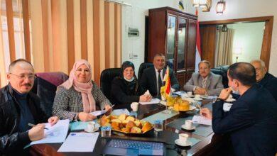 صورة اجتماع الهيئة الادارية لجميعة الليزر العراقية