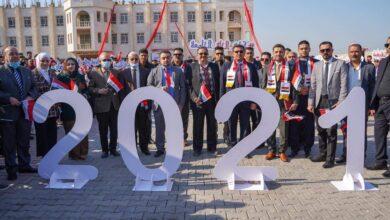 صورة كلية الحلة الجامعة تنظم احتفالية بمناسبة أعياد رأس السنه الميلادية وعيد الجيش العراقي وعيد الشرطة العراقية
