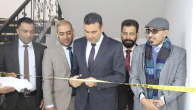 صورة الخاقاني يفتتح رسميا البناية السادسة في الكلية ببغداد .. ويثني على جهود الملاكات الهندسية والخدمية