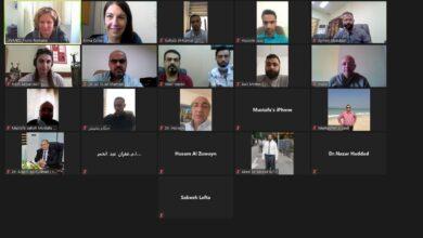 صورة جامعة الكرخ للعلوم تواصل مشاركتها في اجتماعات مشروع انسباير الاوربي الافتراضية