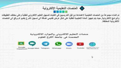 صورة جامعة الكرخ للعلوم تنظم محاضرة عن برنامج جودة التعليم الإلكتروني