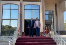 صورة الأستاذ الدكتور علي عبد الحسين زوين عميد كلية الكوت الجامعة يحضر اجتماع مجلس التعليم العالي الأهلي اليوم .