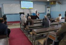 صورة الورشة التعزيزية الاولى للكادر التدريسي في كلية شط العرب الجامعة