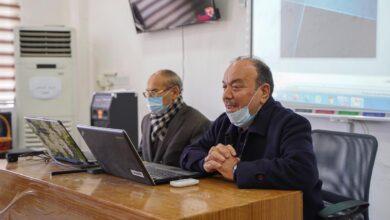 صورة ضمن نشاطات قسم اللغة الانكليزية الاكاديمية في كلية الحلة الجامعة