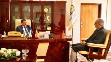 صورة المشرف العام على مجموعة قنوات كربلاء في ضيافة كلية الحلة الجامعة
