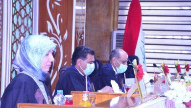 صورة عميد كلية الحلة الجامعة يترأس لجنة مناقشة رسالة ماجستير في جامعة كربلاء