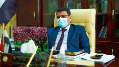 صورة زيارة السيد عميد كلية الحلة الجامعة للصفوف الالكترونية
