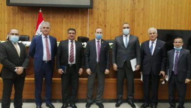 صورة عميد كلية الحلة الجامعة يشارك في اجتماع الهيئة العامة للجامعات والكليات الأهلية