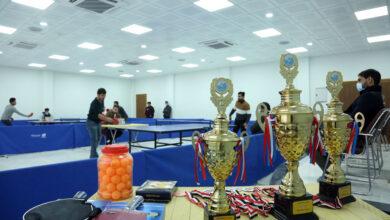 صورة انطلاق بطولة التنس والطاولة في جامعة الكفيل