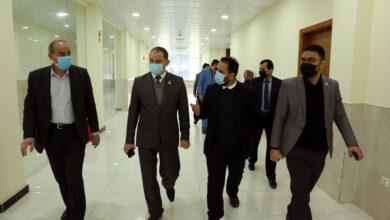 صورة الدكتور عباس الدده يزور بناية كلية التقنيات الطبية والصحية