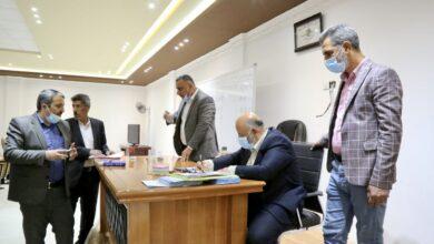 صورة انتخاب ممثل اتحاد نقابة العمال في جامعة الكفيل
