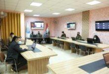 صورة غرفة العمليات المركزية جهود مستمرة لمتابعة سير التعليم الالكتروني