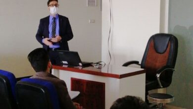 صورة اقامت شعبة الجودة والاداء الجامعي في كلية طب الاسنان جامعة الكفيل