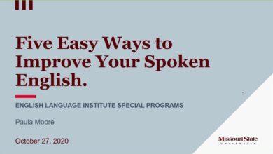 صورة جامعة الكرخ للعلوم تنظم محاضرة عن مهارات تطوير المحادثة باللغة الإنجليزية