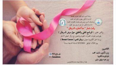 """صورة ورشة عمل الكترونيه بعنوان """"سرطان الثدي Breast Cancer"""""""