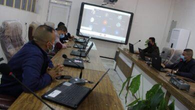 صورة غرفة العمليات للتعليم الالكتروني في كلية الكوت الجامعة والله ولي التوفيق والسداد …