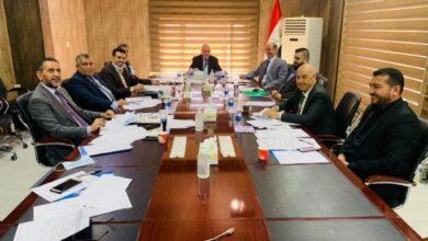 صورة رئيس رابطة الجامعات والكليات الأهلية يحضر ورشة عمل مكتب رئاسة الوزراء في بغداد اليوم .