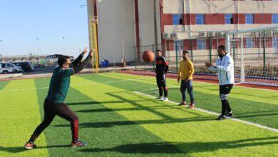 صورة جانب من نشاطات قسم التربية البدنية وعلوم الرياضة