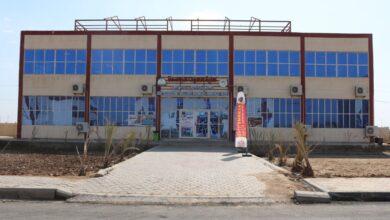 صورة تقرير حول اعمال البناء في كلية الكوت الجامعة