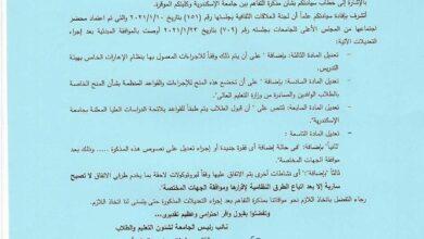 صورة الكوت الجامعة تشرع إبرام اتفاقية علمية ثقافية مع جامعة الإسكندرية الشهر الجاري .