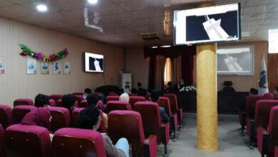 صورة كلية التحسس النائي والجيوفيزياء تقيم دورة تدريبية متخصصة على برنامج البتريل