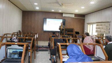 صورة المعهد التقني بعقوبة يقيم دورة عن التعليم الالكتروني المدمج والتعليم المرن