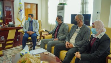 صورة اتفاقية التوأمة والتعاون بين جامعة الكرخ للعلوم الطبية وكلية الحلة الجامعة