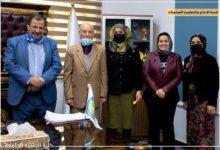 صورة زار فريق من جامعة بغداد ووزارة الصحة كلية الرشيد الجامعة