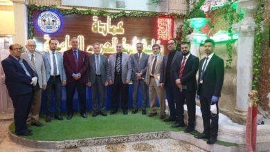 صورة زيارة الفريق الوزاري للتعليم الالكتروني الى كلية شط العرب الجامعة