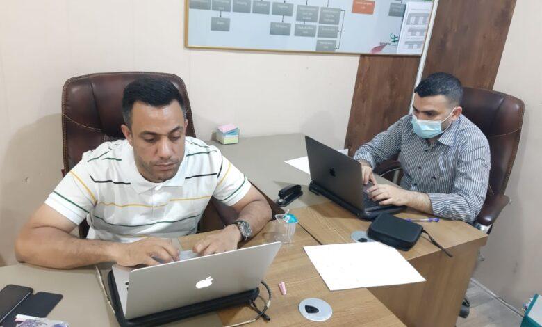 صورة انطلاق الامتحانات الالكترونية في قسم علوم الحاسبات – كلية شط العرب الجامعة