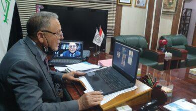 صورة الفريق الوزاري للتعليم الإلكتروني يزور إمتحانات كلية شط العرب الجامعة