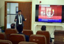 صورة كلية الصيدلة في جامعة الكفيل تقيم حلقة نقاشية عن (الخثرة الوريدية واسبابها)