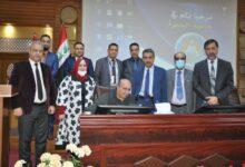 صورة جامعة البصرة تستقبل وفداً وزارياً لمناقشة منصة الاختبارات الالكترونية الذكية