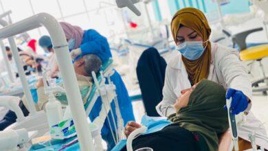 صورة العيادات التعليمية لقسم طب الاسنان في كلية الحلة الجامعة