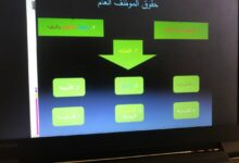 صورة المادة القانون الاداري  المحاضره واجبات وحقوق الموظف العام التدريسي علي هادي فرحان