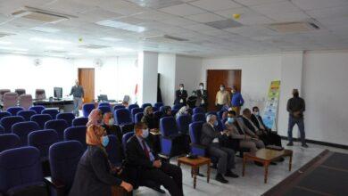 صورة كلية التمريض في جامعة القادسية تفتح القاعة الالكترونية الذكية التي تساهم في تطويرالعملية التعليمية والتربوية