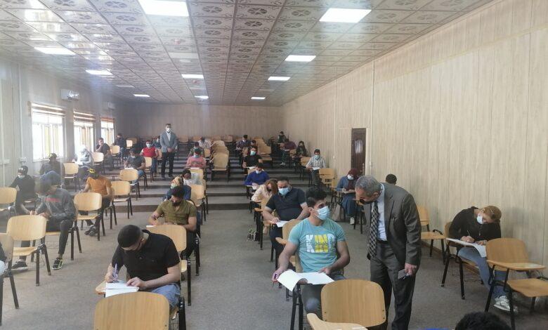 صورة البيان تواصل امتحاناتها الحضورية للفصل الأول لليوم الثاني على التوالي