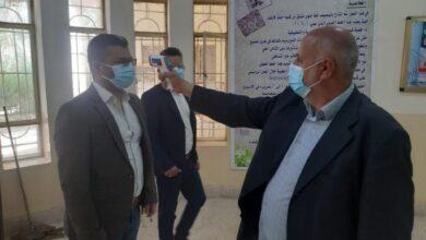 صورة جامعة القادسية تشكل لجنة لمتابعة بوابات التعفير خلال تفشي كورونا