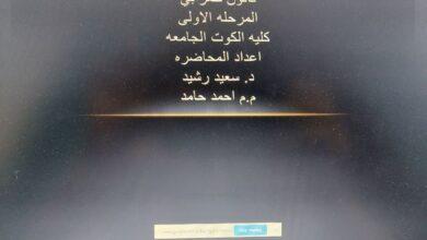 صورة ماده تاريخ القانون المرحله الاولى اعداد المحاضره  د. سعيد رشيد م. م احمد حامد
