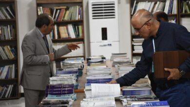 صورة تقرير قناة زاكروس عربية للمؤتمر العلمي الدولي الثاني المشترك بين كلية الكوت الجامعة وجمعية الليزر العراقية  .