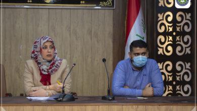 صورة لقاء الأستاذ المساعد الدكتور ميساء علي عبد الخالق معاون العميد للشؤون العلمية بممثلي المراحل