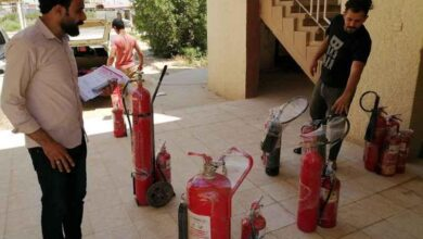 صورة كلية الطب تنجز سلسلة من الإجراءات لضمان سلامة المباني الحكومية وتجنب الحوادث والحرائق تنفيذا للتوصيات الوزارية