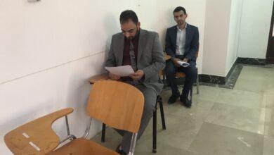 صورة مشاهدة وتطبيق لبعض طلبة المرحلة الرابعة لقسمي علوم القران الكريم والتربية الاسلامية